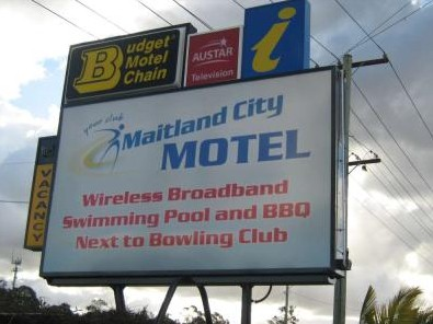 Maitland City Motel - Accommodation Noosa