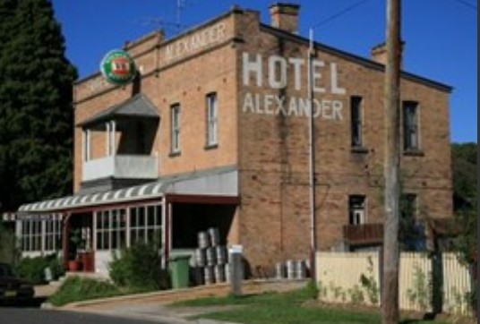 Alexander Hotel Rydal - Accommodation Noosa