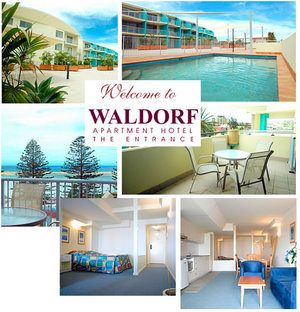 The Entrance Waldorf Apartments - Accommodation Noosa