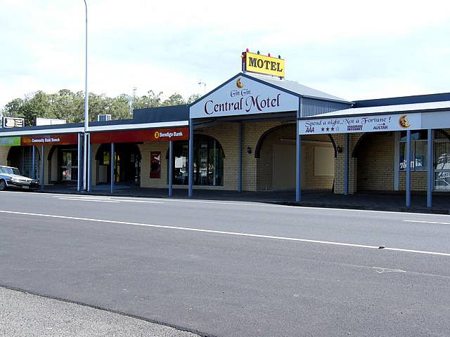 Gin Gin Central Motel - Accommodation Noosa