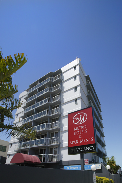 Metro Hotel  Apartments Gladstone - Accommodation Noosa