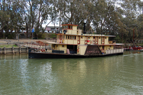 Emmylou Paddle Steamer - Accommodation Noosa