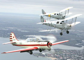 Vintage Tiger Moth Joy Flights - Accommodation Noosa
