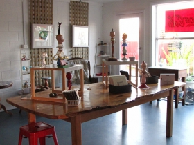 Portside Open Studio/Gallery of GINA - Accommodation Noosa