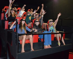 7D Cinema - Virtual Reality - Accommodation Noosa