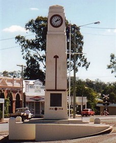 Goomeri War Memorial Clock - Accommodation Noosa