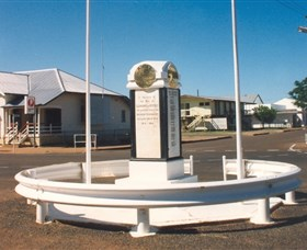 Cloncurry War Memorial - Accommodation Noosa