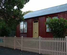 19th Century Portable Iron Houses - Accommodation Noosa