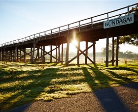 Historic Bridges of Gundagai - Accommodation Noosa