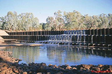 Allan Tannock Weir - Accommodation Noosa