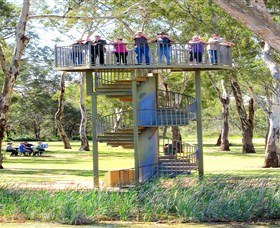 Darling and Murray River Junction and Viewing Tower - Accommodation Noosa