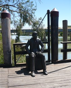 Captain John Egge Statue - Accommodation Noosa
