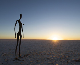 Inside Australia - Antony Gormley Sculptures - Accommodation Noosa