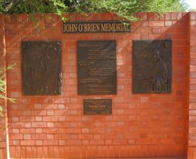 John OBrien Commemorative Wall - Accommodation Noosa