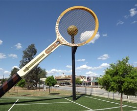 Barellans Big Tennis Racquet - Accommodation Noosa