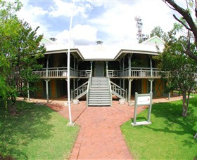 Moree Lands Office Historical Building