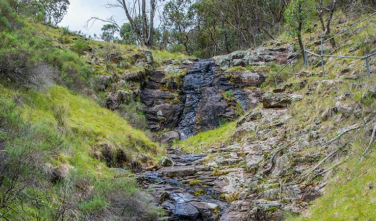Hopetoun Falls walking track