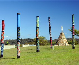 Maclean Tartan Power Poles - Accommodation Noosa