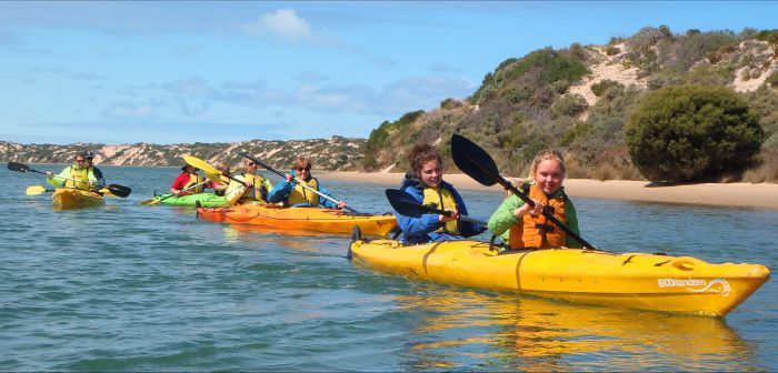 Canoe the Coorong - Accommodation Noosa