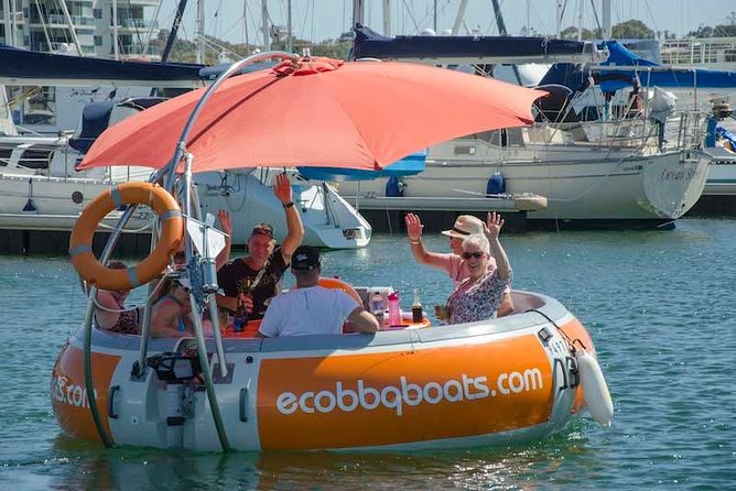 Self-Drive BBQ Boat Hire Mandurah - Group of 7 - 10 people