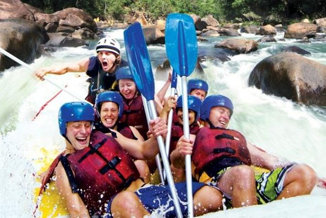 Tully River Full-Day White Water Rafting from Cairns including Lunch - Accommodation Noosa