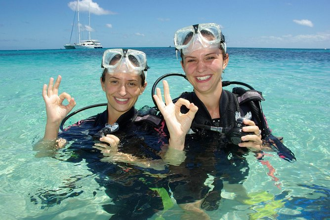 Ocean Spirit Michaelmas Cay Dive and Snorkel Cruise from Palm Cove - Accommodation Noosa