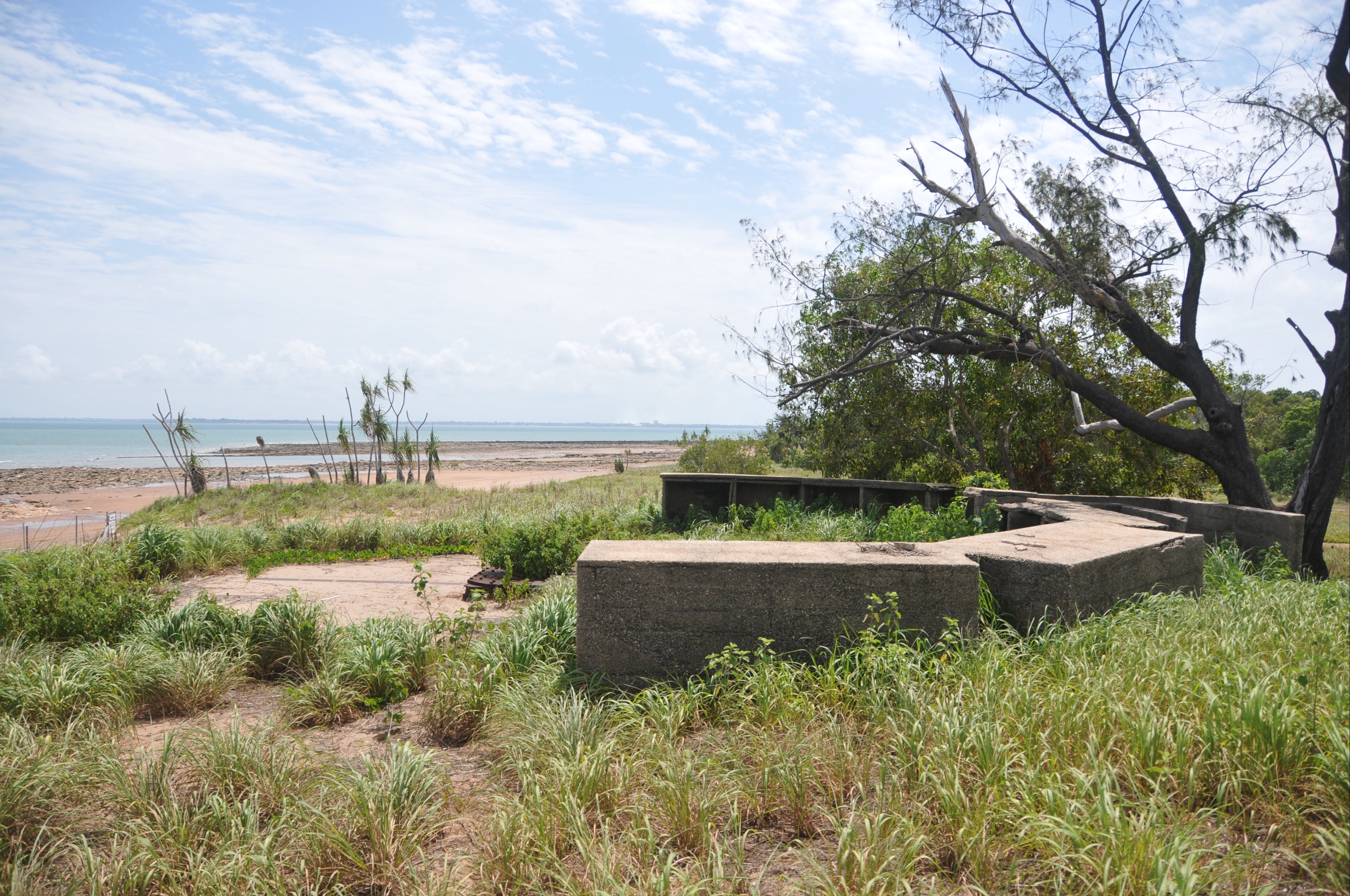 WWII Gun Emplacement Wagait Beach - Accommodation Noosa
