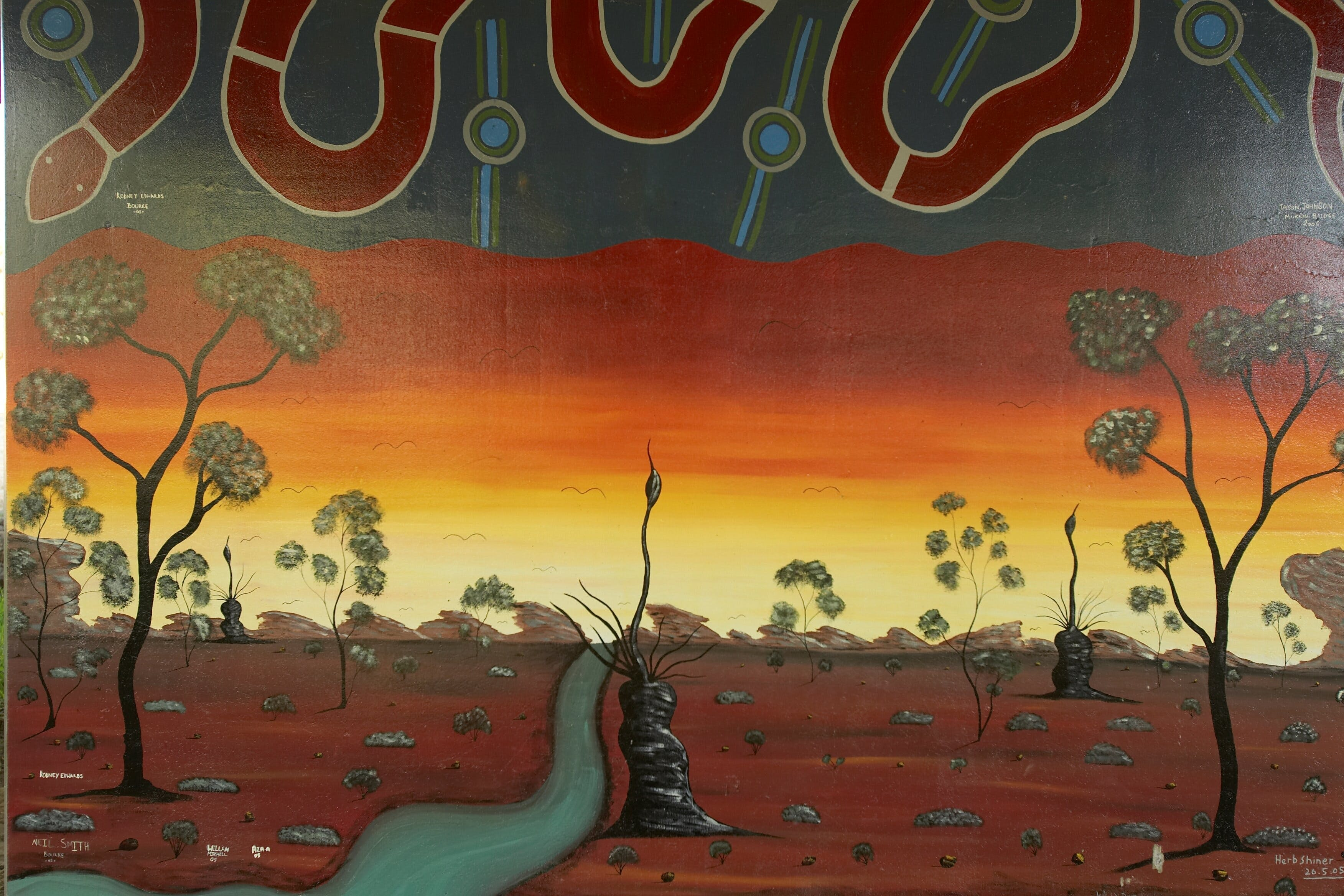Warakirri Murals - Accommodation Noosa