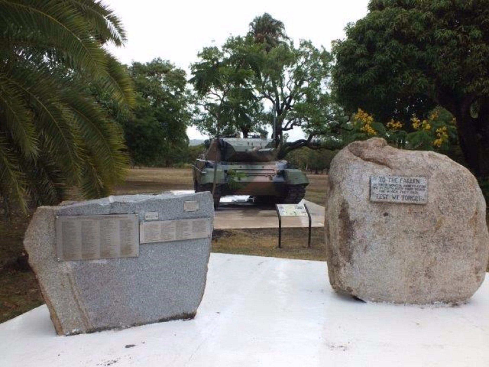 Cooktown War Memorial - Accommodation Noosa