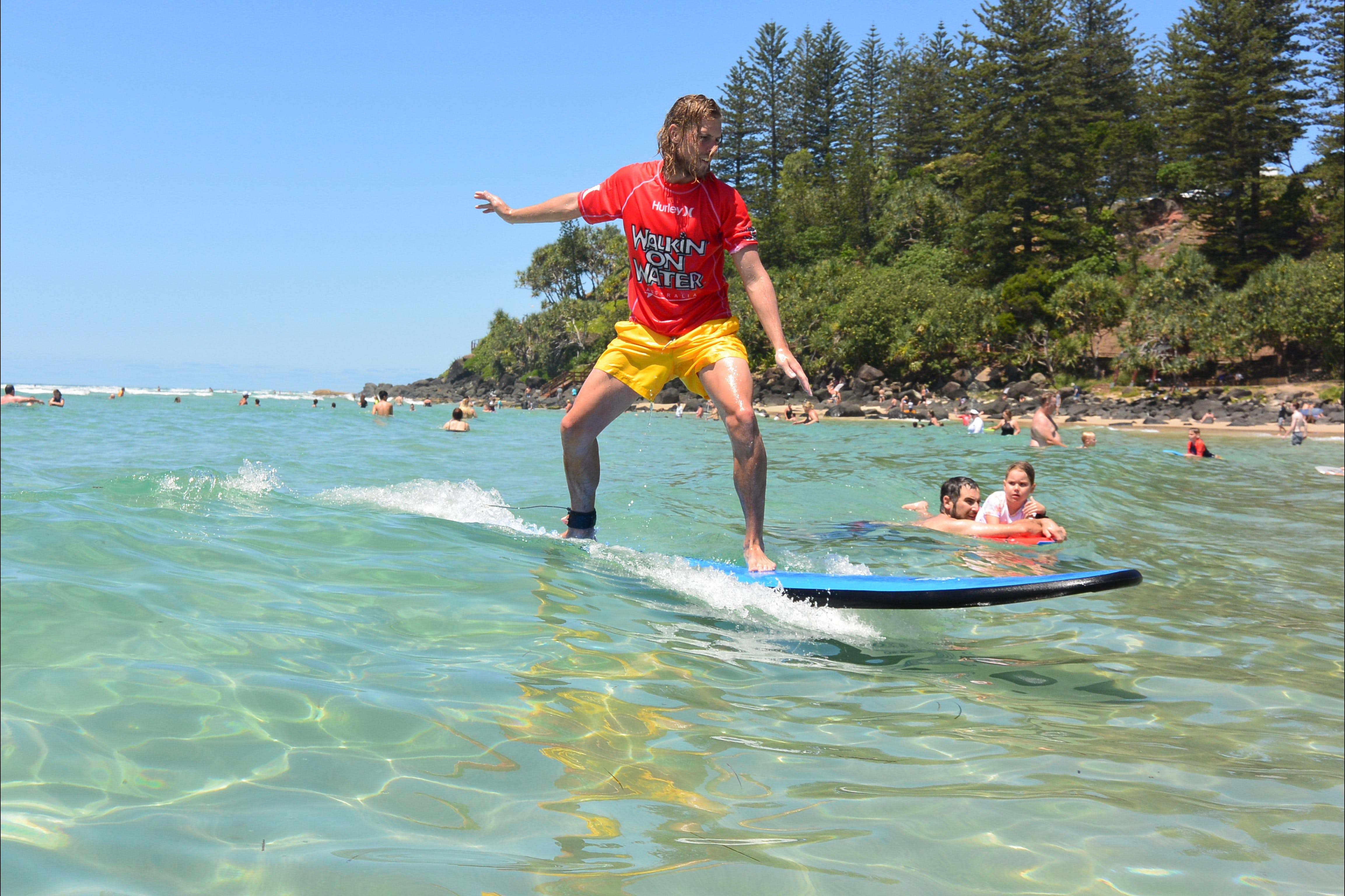 Walkin' On Water Surf School - Accommodation Noosa