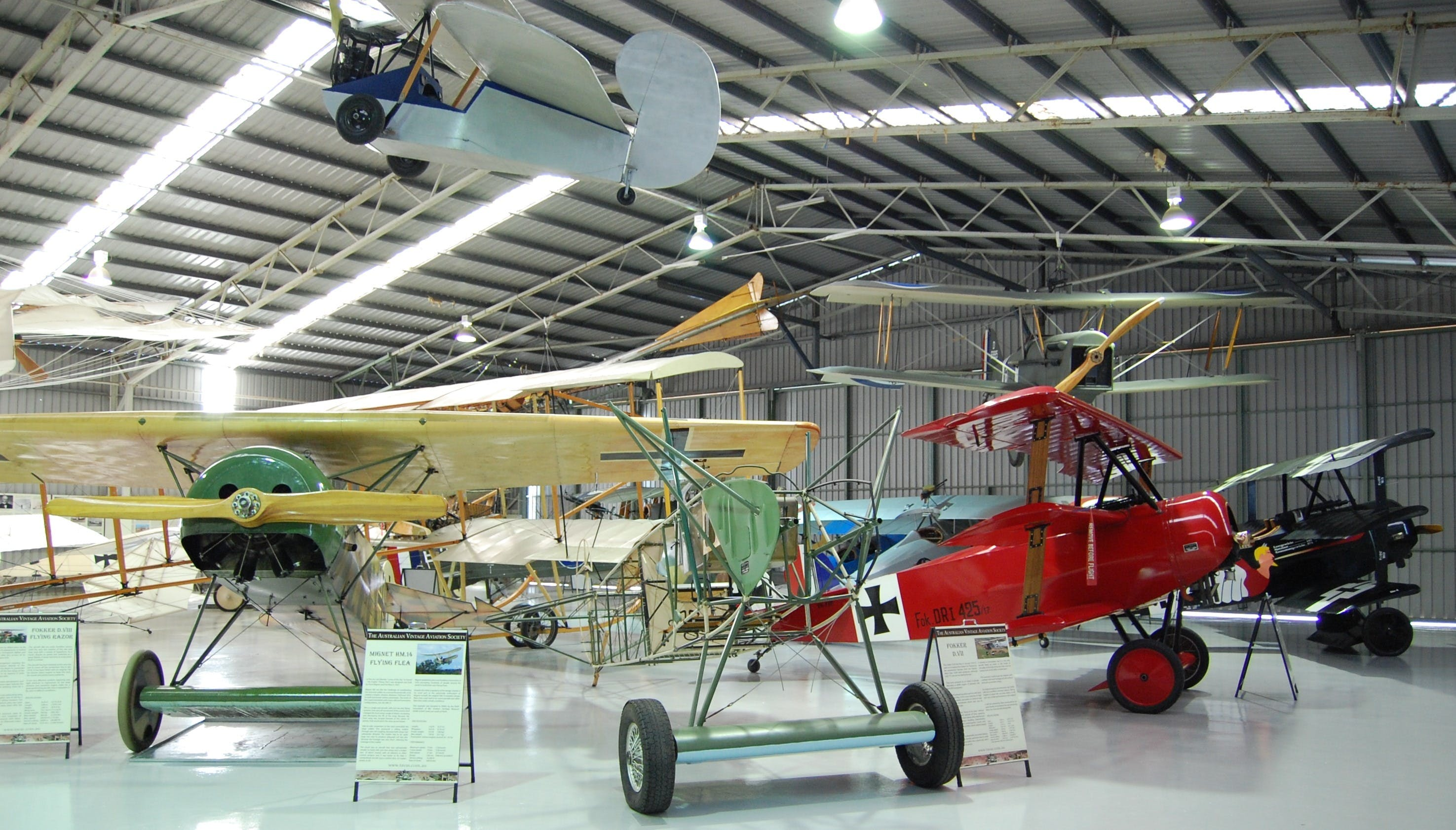 The Australian Vintage Aviation Society Museum - Accommodation Noosa