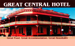 Great Central Hotel - Accommodation Noosa