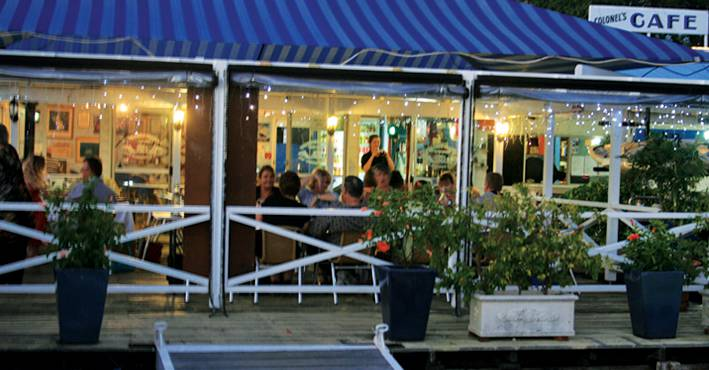 The Colonels Restaurant  Bar - Accommodation Noosa