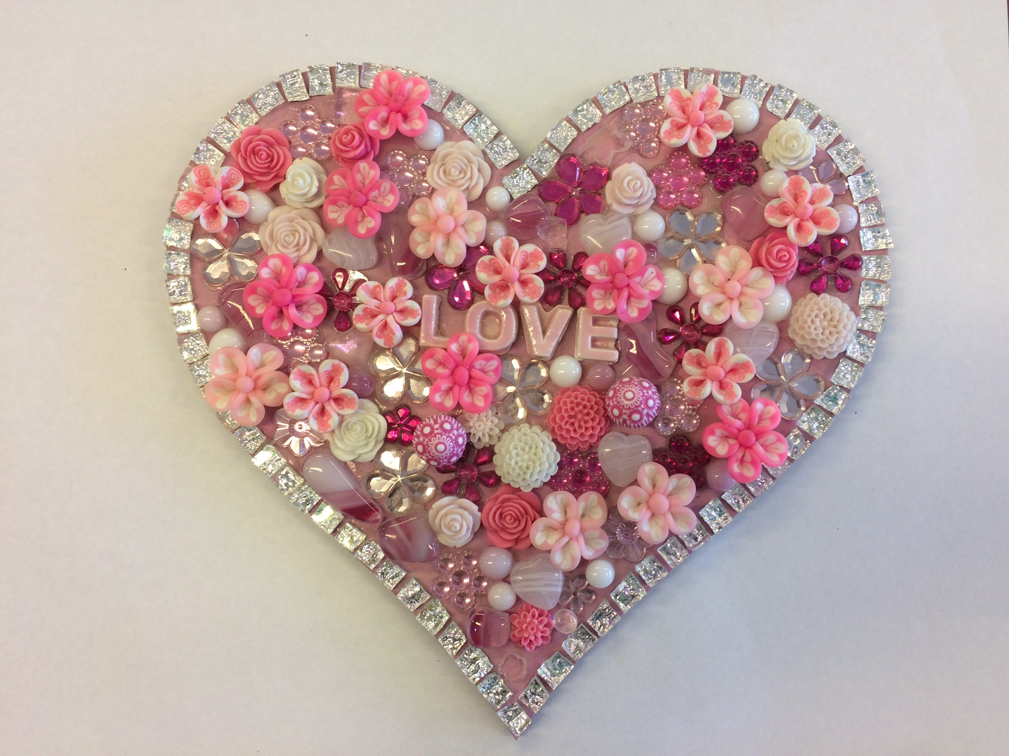 Flowers and Bling Mosaic Class for Kids - Accommodation Noosa