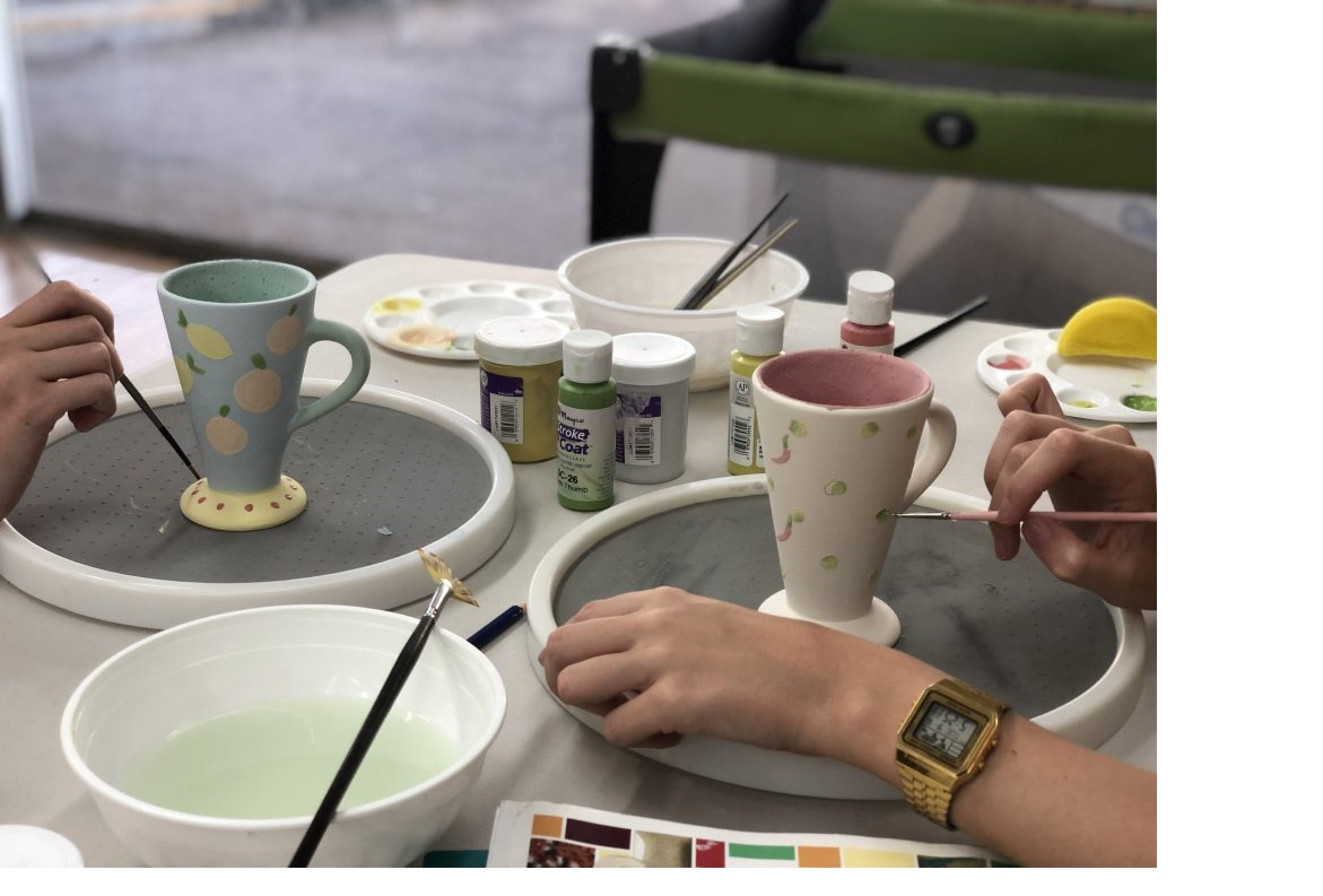 Ceramic Painting Class - Accommodation Noosa