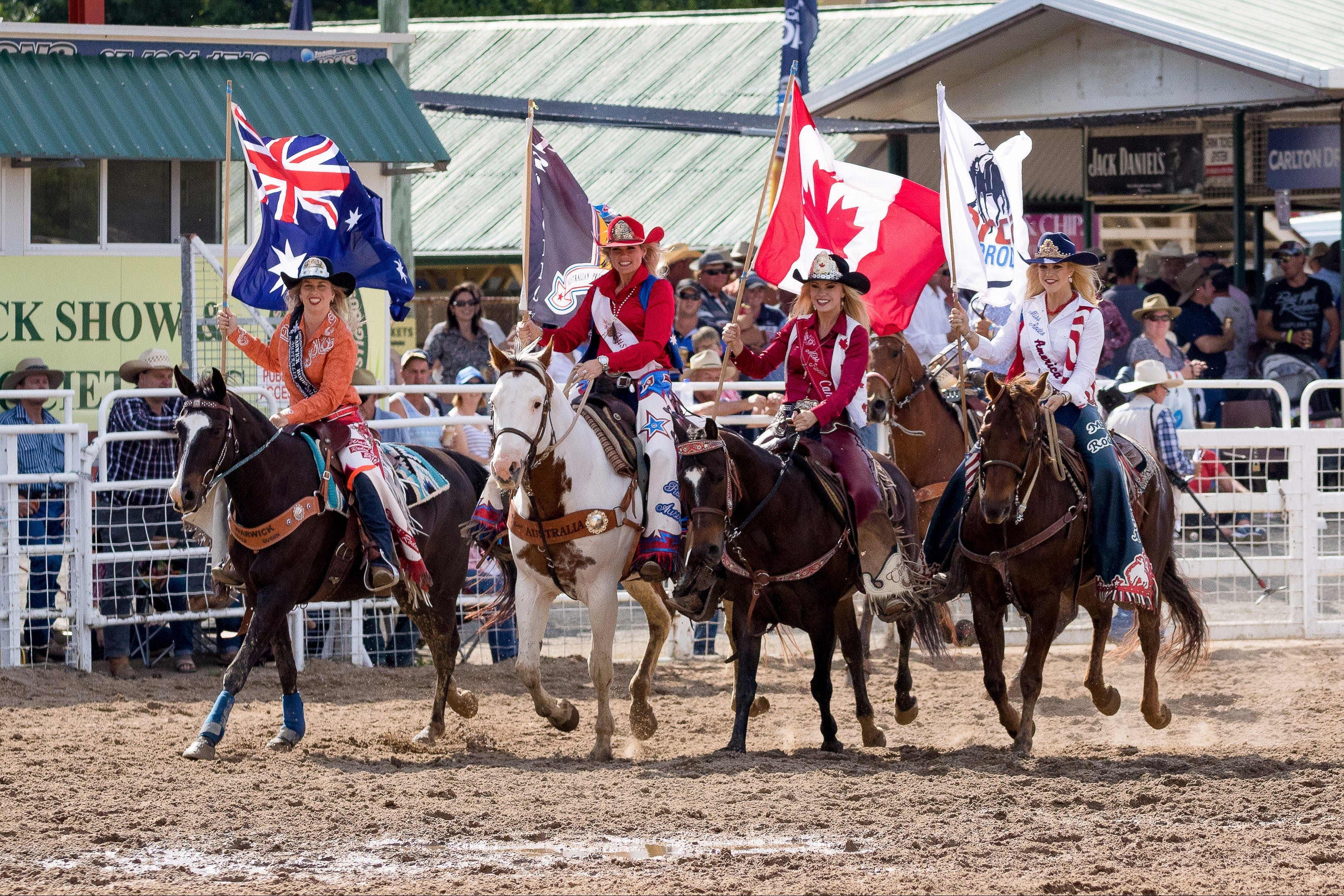Warwick Rodeo National APRA National Finals and Warwick Gold Cup Campdraft - Accommodation Noosa