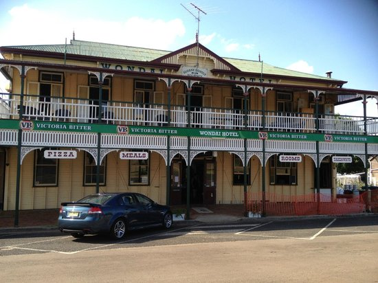 The Wondai Hotel  Cellar - Accommodation Noosa